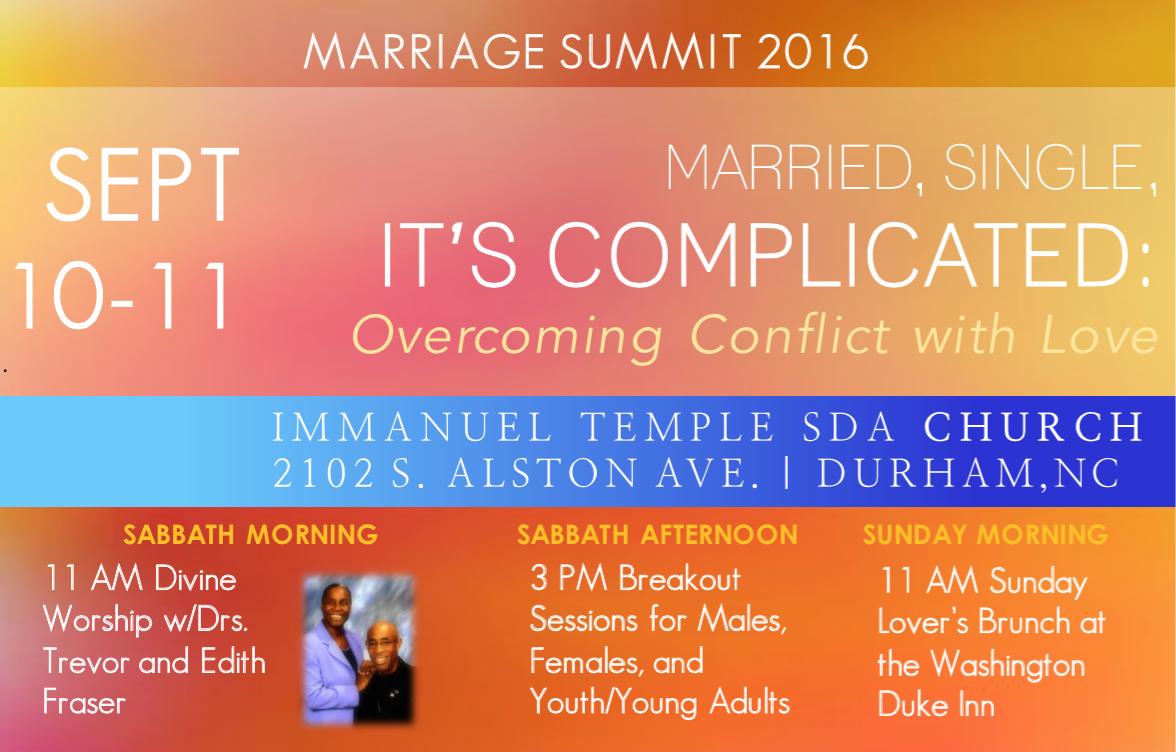 Marriage Summit Weekend