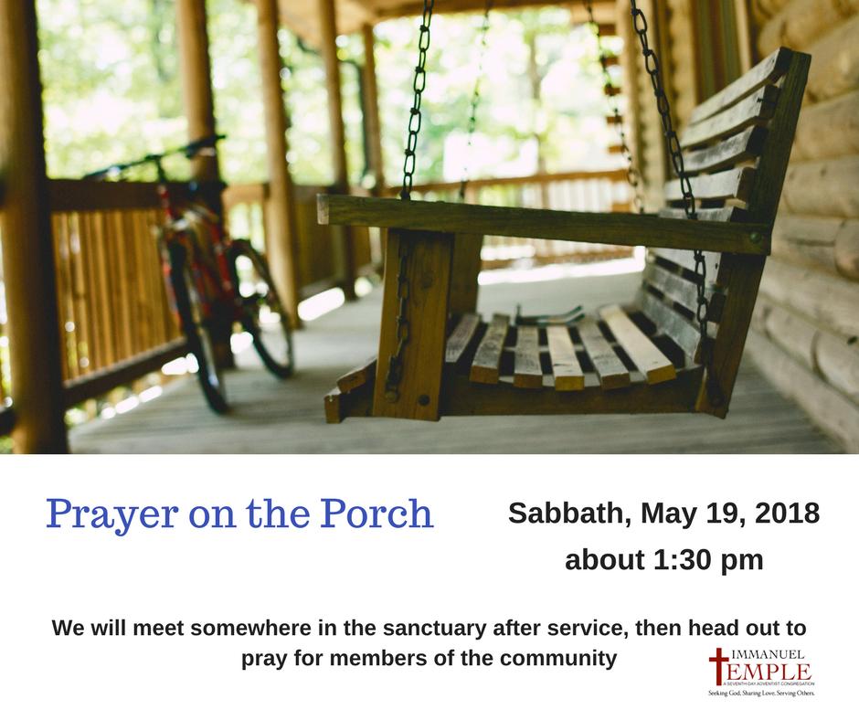 Prayer on the Porch