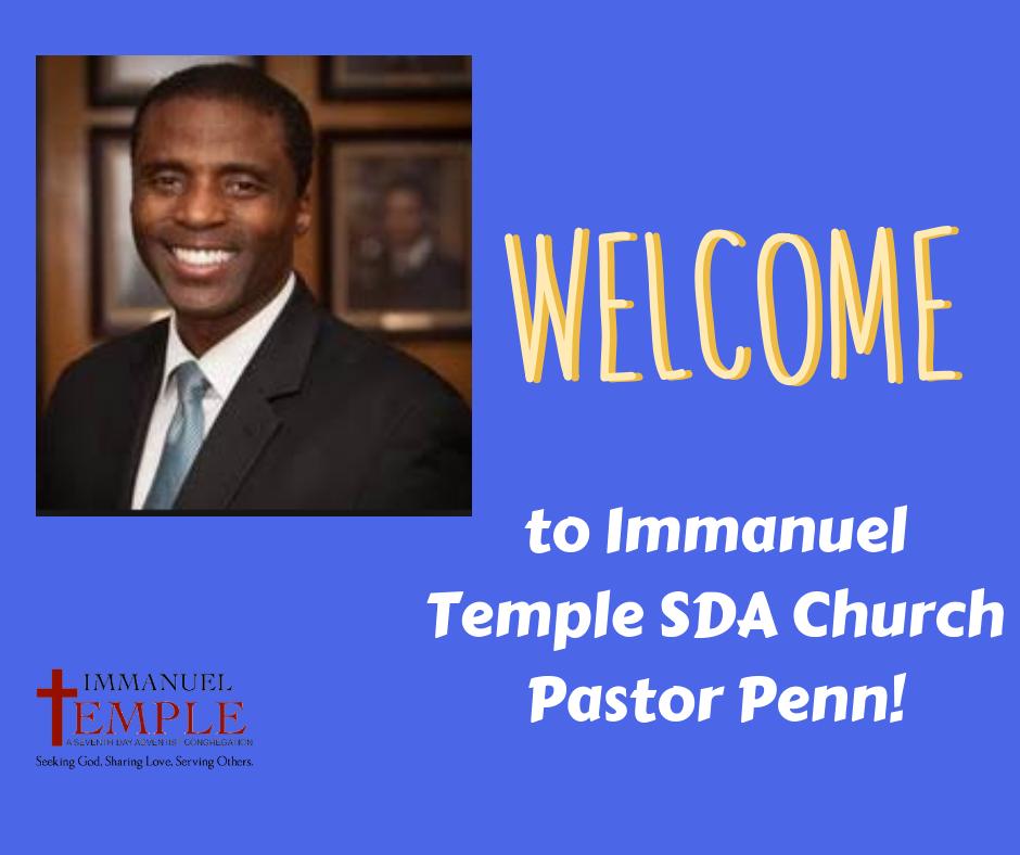 Welcome Pastor Penn