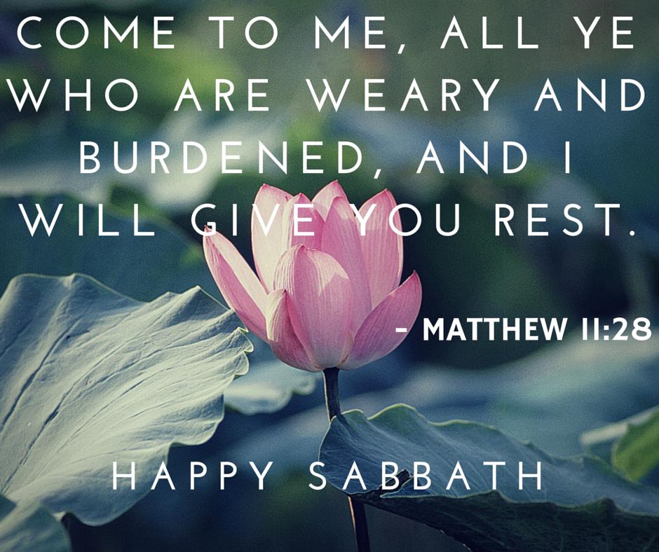 Happy Sabbath Rest Immanuel Temple